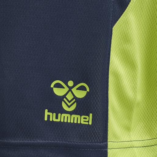 hmlLEAD TRAINER SHORTS, DARK DENIM, packshot