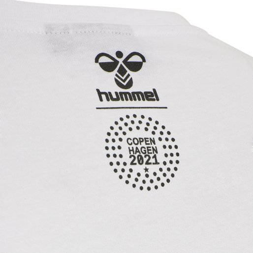 hmlFLAG T-SHIRT, WHITE, packshot