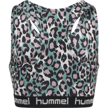hmlMIMMI SPORTS TOP, OIL BLUE, packshot