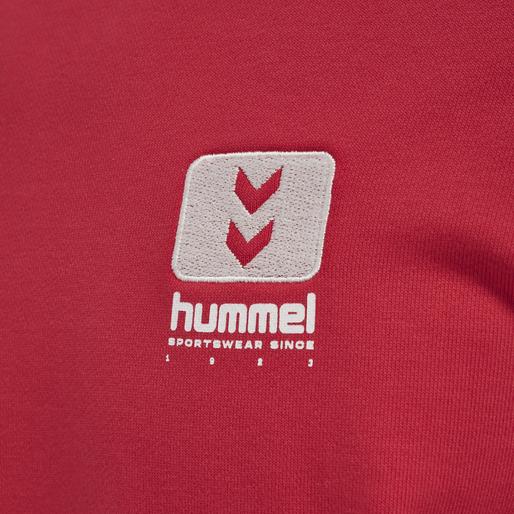 hmlLGC GRAHAM SWEATSHIRT, TRUE RED, packshot