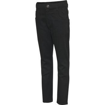 hmlFIVE PANTS, BLACK DENIM, packshot