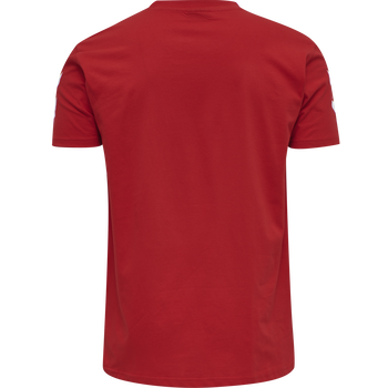 HUMMEL GO COTTON T-SHIRT S/S, !TRUE RED, packshot